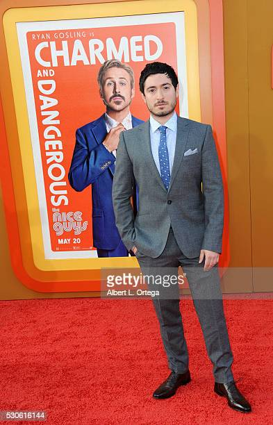 Actor Jason Fuchs arrives for the Premiere Of Warner Bros Pictures' The Nice Guys held at TCL Chinese Theatre on May 10 2016 in Hollywood California