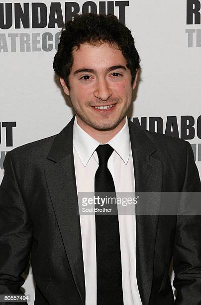 Actor Jason Fuchs attends the 2008 Roundabout Theatre Company Feeling Groovy Pop Songs of the 60's at Roseland Ballroom April 7 2008 in New York City