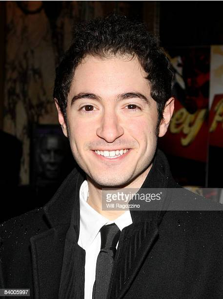 Actor Jason Fuchs attends the Broadway opening of Pal Joey at Roundabout Theatre Company's Studio 54 on December 11 2008 in New York City