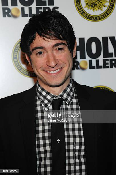 Actor Jason Fuchs attends the Holy Rollers premiere at Landmark's Sunshine Cinema on May 10 2010 in New York City