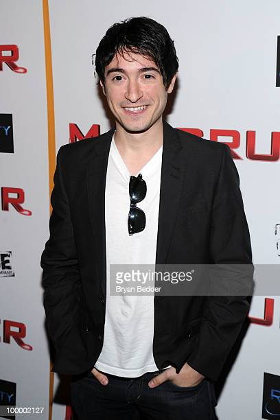 Actor Jason Fuchs attends the premiere of MacGruber at Landmark's Sunshine Cinema on May 19 2010 in New York City