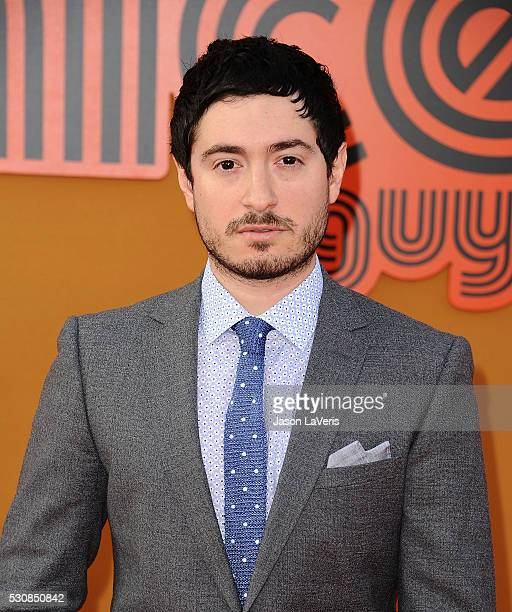 Actor Jason Fuchs attends the premiere of The Nice Guys at TCL Chinese Theatre on May 10 2016 in Hollywood California