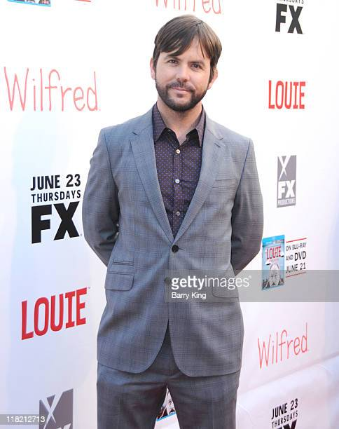 Actor Jason Gann arrives at FX Network premiere of Wilfred and season two launch of Louie at ArcLight Hollywood on June 20 2011 in Hollywood...