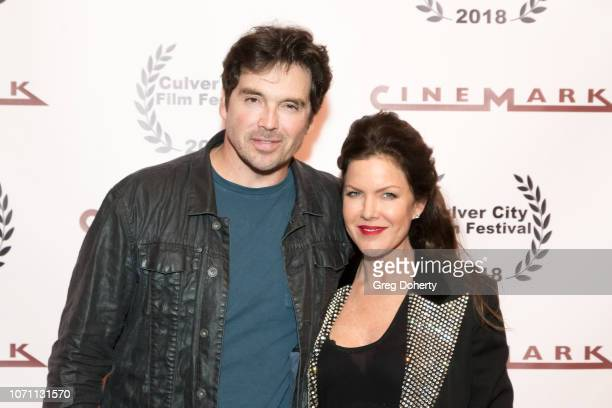 Actor Jason Gedrick and Actress and Executive Producer Kira Reed Lorsch attends a screening of Acts Of Desperation At Culver City Film Festival...