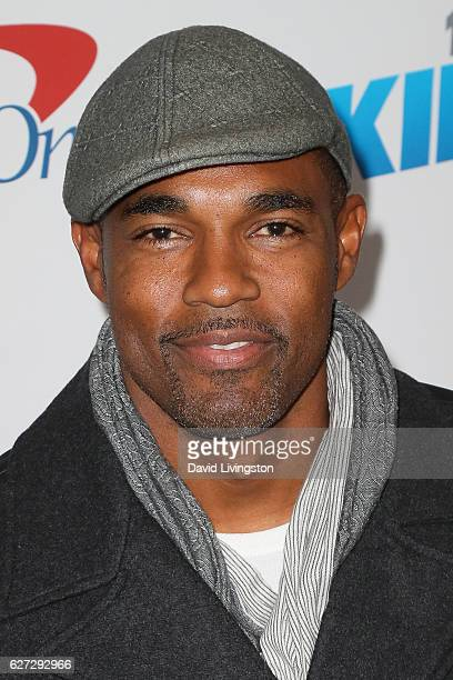 Actor Jason George arrives at 1027 KIIS FM's Jingle Ball 2016 at the Staples Center on December 2 2016 in Los Angeles California