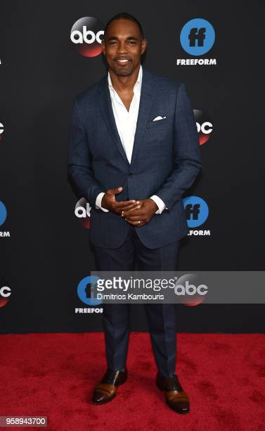 Actor Jason George attends during 2018 Disney ABC Freeform Upfront at Tavern On The Green on May 15 2018 in New York City