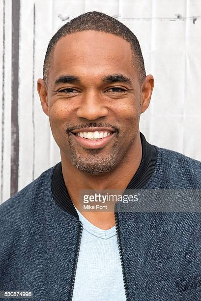 Actor Jason George attends the AOL Build Speaker Series to discuss Grey's Anatomy on May 11 2016 in New York New York