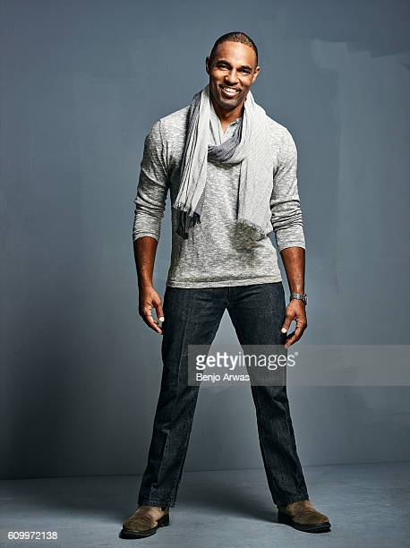 Actor Jason George is photographed for Self Assignment on March 11 2016 in Los Angeles California