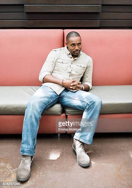 Actor Jason George is photographed for The Wrap on April 12 2016 in Los Angeles California