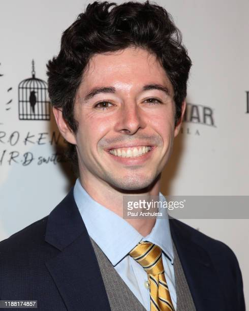 Actor Jason Gratias attends the media night preview of BROKEN Code BIRD Switching at S Feury Theater on November 16 2019 in Los Angeles California