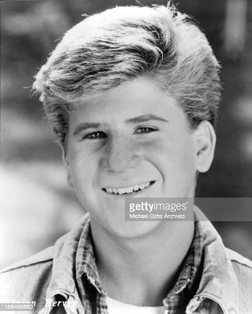 Actor Jason Hervey poses for a portrait in circa 1988