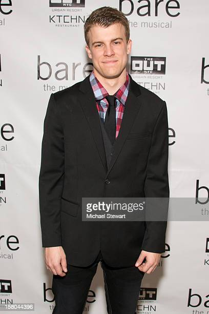 Actor Jason Hite attends BARE The Musical Opening Night After Party at Out Hotel on December 9 2012 in New York City