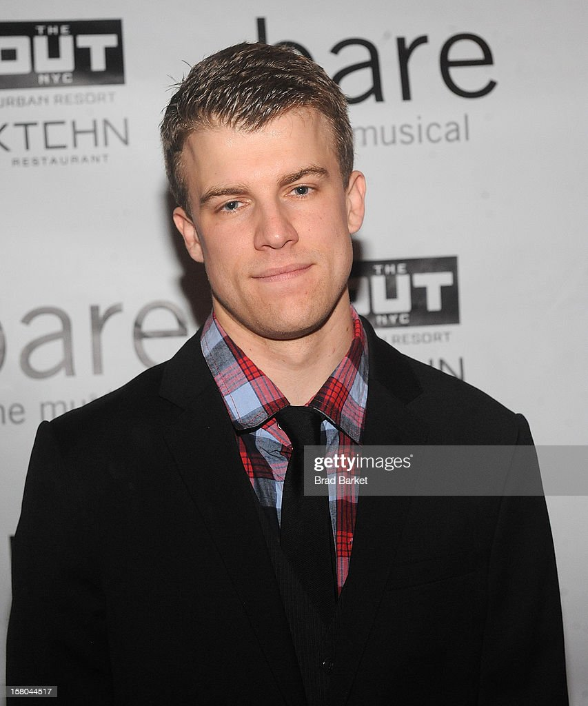 Actor Jason Hite attends 'BARE The Musical' Opening Night After Party at Out Hotel on December 9, 2012 in New York City.