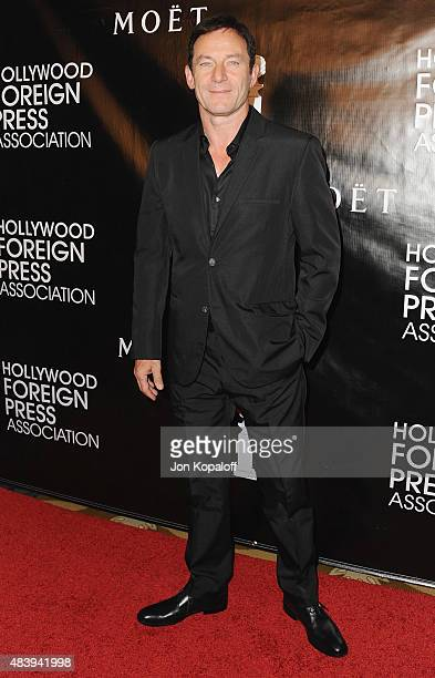 Actor Jason Isaacs arrives at Hollywood Foreign Press Association Hosts Annual Grants Banquet at the Beverly Wilshire Four Seasons Hotel on August...