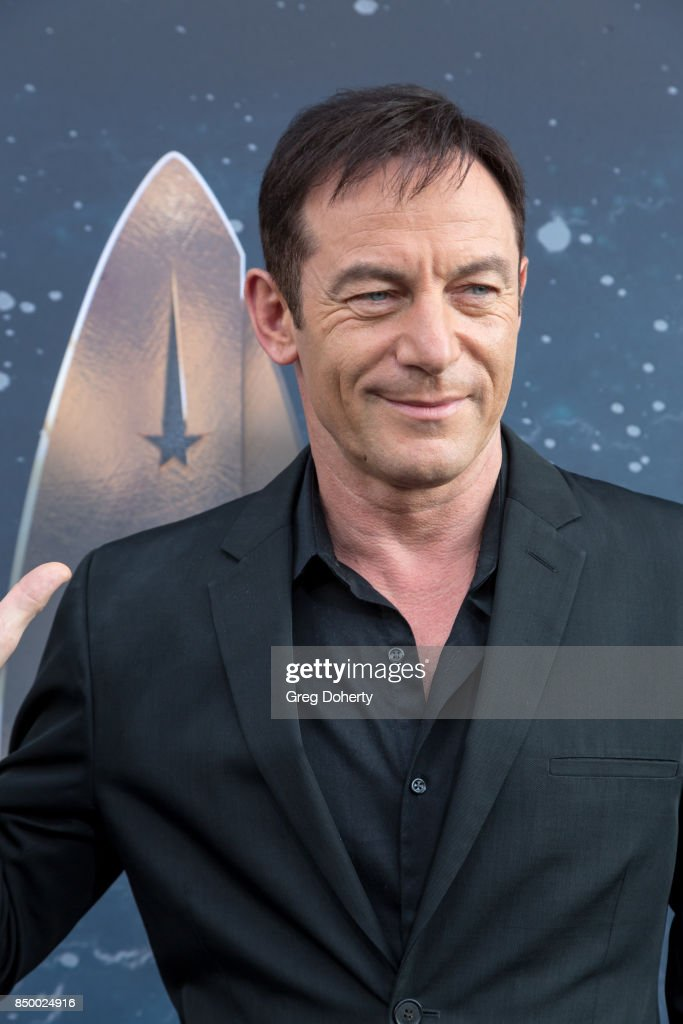 Actor Jason Isaacs arrives for the Premiere Of CBS's 'Star Trek: Discovery' at The Cinerama Dome on September 19, 2017 in Los Angeles, California.