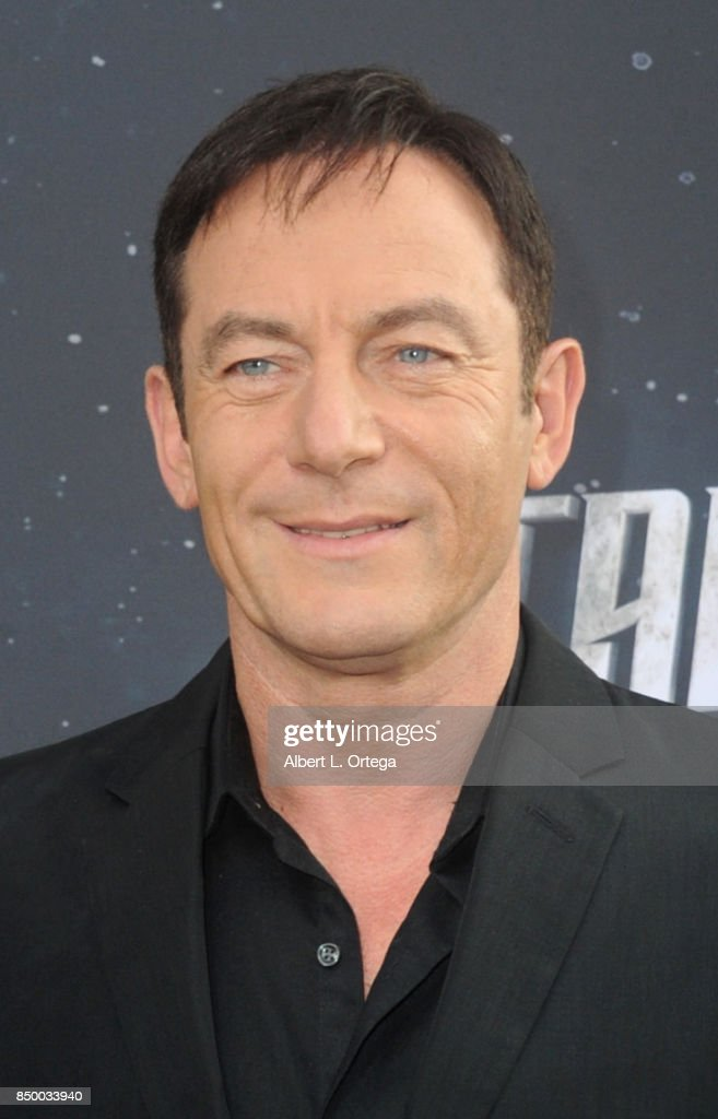 Actor Jason Isaacs arrives for the Premiere Of CBS's 'Star Trek: Discovery' held at The Cinerama Dome on September 19, 2017 in Los Angeles, California.