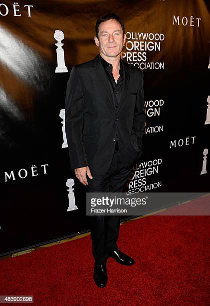 Actor Jason Isaacs attends HFPA Annual Grants Banquet at the Beverly Wilshire Four Seasons Hotel on August 13 2015 in Beverly Hills California