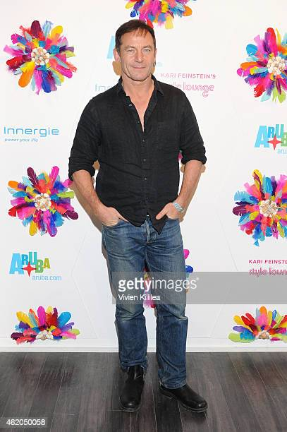 Actor Jason Isaacs attends Kari Feinstein's Style Lounge Presented By Aruba during 2015 Park City on January 23 2015 in Park City Utah