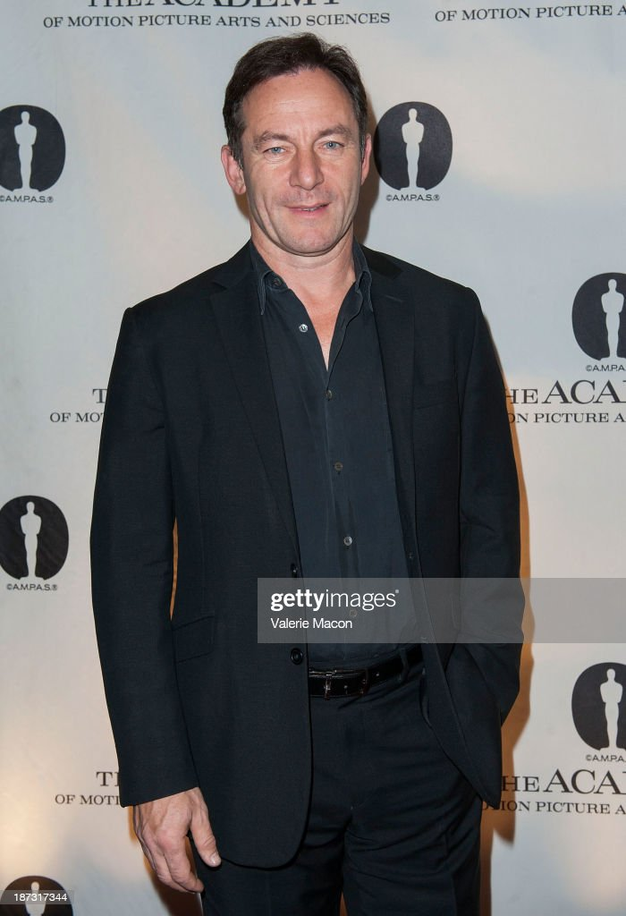 Actor Jason Isaacs attends The Academy Of Motion Picture Arts And Sciences' Hosts The Academy Nicholl Fellowships In Screenwriting Awards at AMPAS Samuel Goldwyn Theater on November 7, 2013 in Beverly Hills, California.