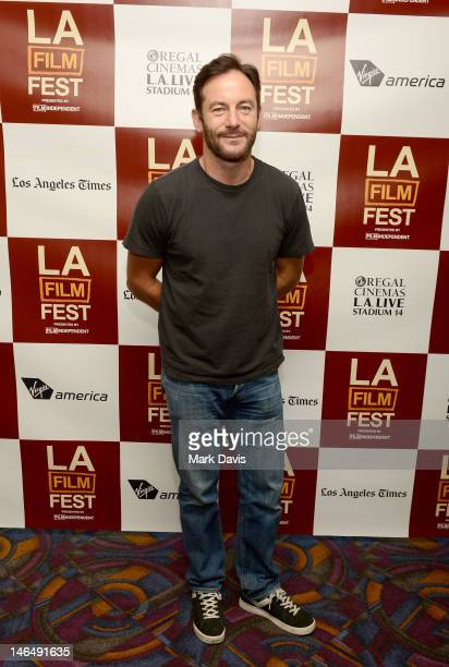 Actor Jason Isaacs attends the Actor's coffee talks during the 2012 Los Angeles Film Festival at Regal Cinemas L.A. Live on June 17, 2012 in Los...