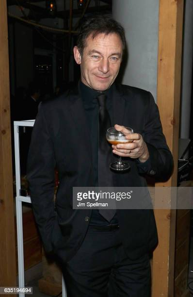 Actor Jason Isaacs attends the screening after party for 'A Cure for Wellness' hosted by 20th Century Fox and Prada at Mr Purple on February 13 2017...