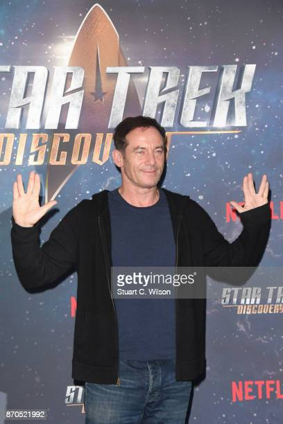 Actor Jason Isaacs attends the 'Star Trek Discovery' photocall at Millbank Tower on November 5 2017 in London England