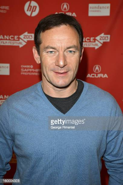 Actor Jason Isaacs attends the 'Sweetwater' Premiere during the 2013 Sundance Film Festival at Eccles Center Theatre on January 24 2013 in Park City...