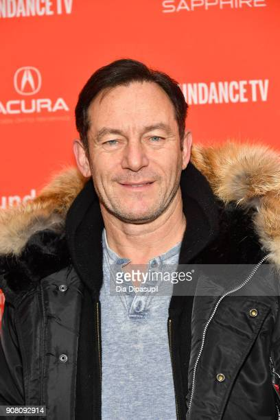 Actor Jason Isaacs attends the 'The Death Of Stalin' Premiere during the 2018 Sundance Film Festival at The Marc Theatre on January 20 2018 in Park...