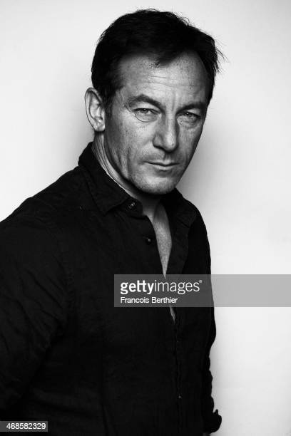 Actor Jason Isaacs by Photographer Francois Berthier for the Contour Collection poses at the Berlinale Palast during the 64th Berlinale International...