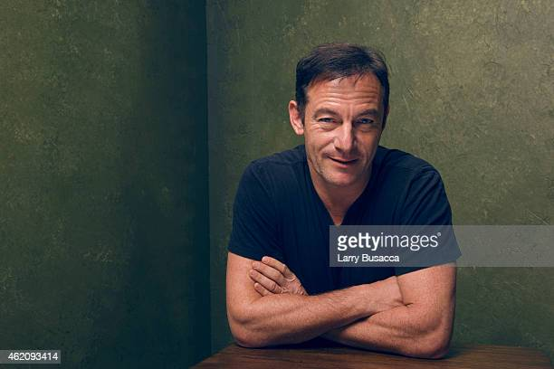 "Actor Jason Isaacs from ""Stockholm, Pennsylvania"" poses for a portrait at the Village at the Lift Presented by McDonald's McCafe during the 2015..."