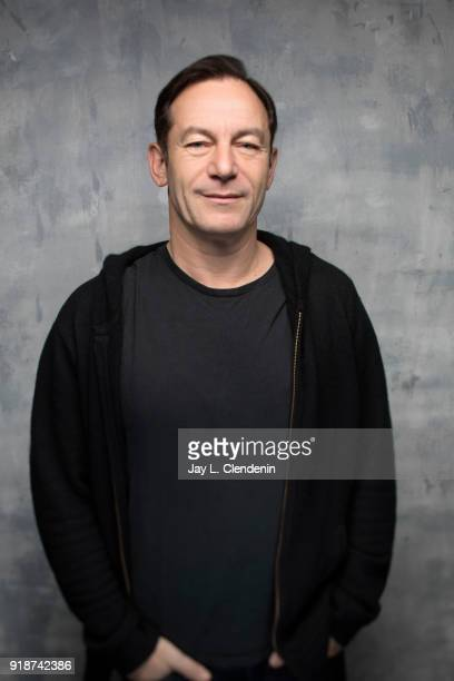 Actor Jason Isaacs from the film 'The Death of Stalin' is photographed for Los Angeles Times on January 21 2018 in the LA Times Studio at Chase...