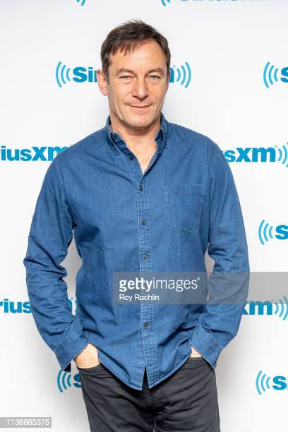 Actor Jason Isaacs visits SiriusXM Studios on March 18 2019 in New York City