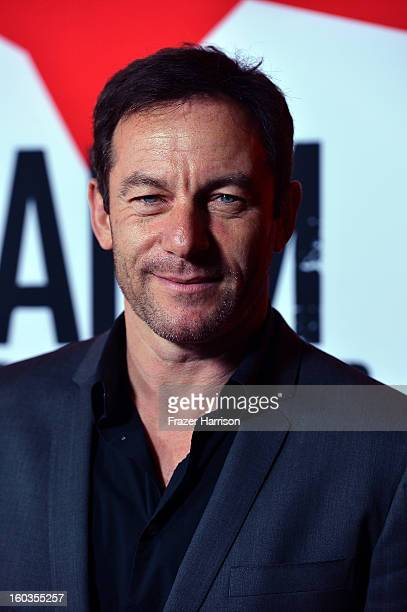Actor Jason Issacs arrives at the premiere of Summit Entertainment's Warm Bodies at ArcLight Cinemas Cinerama Dome on January 29 2013 in Hollywood...