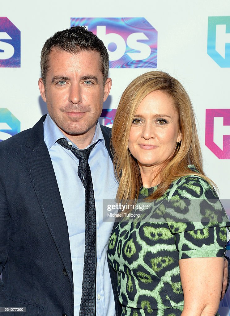 Actor Jason Jones and comedienne Samantha Bee attend TBS's A Night Out With - For Your Consideration event at The Theatre at Ace Hotel on May 24, 2016 in Los Angeles, California.