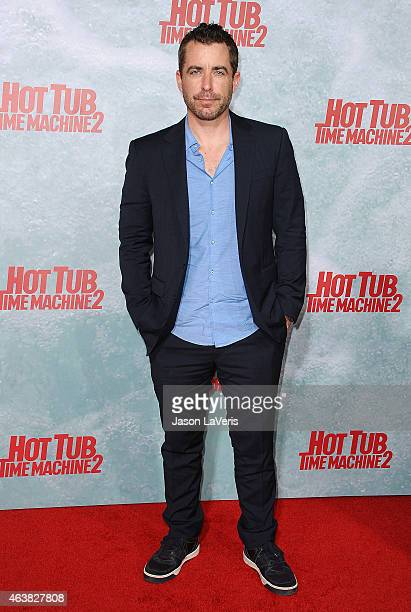 Actor Jason Jones attends the premiere of Hot Tub Time Machine 2 at Regency Village Theatre on February 18 2015 in Westwood California