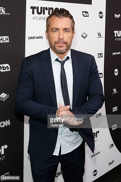 Actor Jason Jones attends the Turner Upfront 2016 arrivals at The Theater at Madison Square Garden on May 18 2016 in New York City