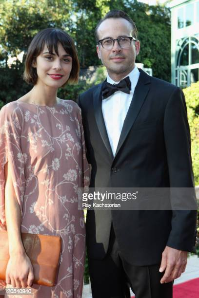 Actor Jason Lee and Ceren Alkac attend the Church of Scientology Celebrity Centre 42nd Anniversary Gala held at the Church of Scientology Celebrity...