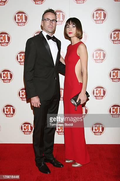 Actor Jason Lee and Ceren Alkac attend the Entertainment Tonight 15th Annual Emmy Party held at Vibiana on September 18 2011 in Los Angeles California