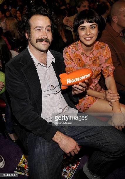 Actor Jason Lee and guest during Nickelodeons 2008 Kids Choice Awards held at the Pauley Pavilion on March 29 2008 in Westwood California
