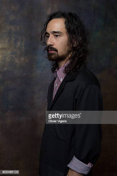 Actor Jason Lew is photographed for Self Assignment on September 3 2016 in Deauville France