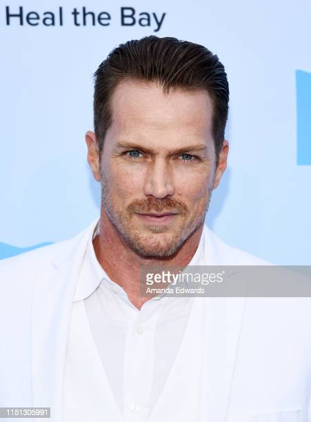 Actor Jason Lewis arrives at Heal The Bay's Bring Back The Beach Annual Awards Gala at Jonathan Beach Club on May 23 2019 in Santa Monica California