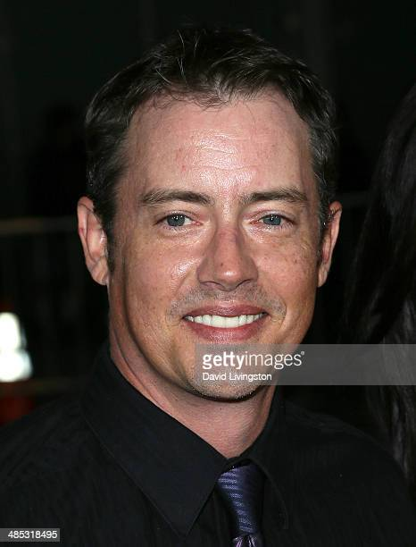 Actor Jason London attends the premiere of Open Road Films' 'A Haunted House 2' at Regal Cinemas LA Live on April 16 2014 in Los Angeles California