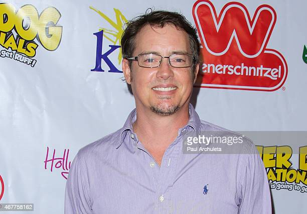 Actor Jason London attends the 'Wiener Dog Internationals' Los Angeles premiere at Pacific Theatre at The Grove on March 26 2015 in Los Angeles...
