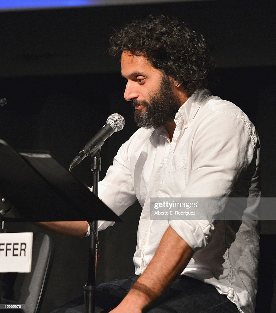 Actor Jason Mantzoukas attends a Film Independent live read at Bing Theatre At LACMA on January 17, 2013 in Los Angeles, California.