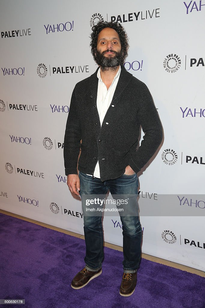 Actor Jason Mantzoukas attends PaleyLive's 'The League: A Fond Farewell' at The Paley Center for Media on December 8, 2015 in Beverly Hills, California.