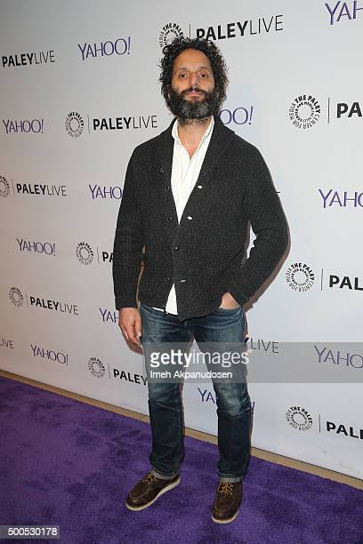 Actor Jason Mantzoukas attends PaleyLive's 'The League A Fond Farewell' at The Paley Center for Media on December 8 2015 in Beverly Hills California