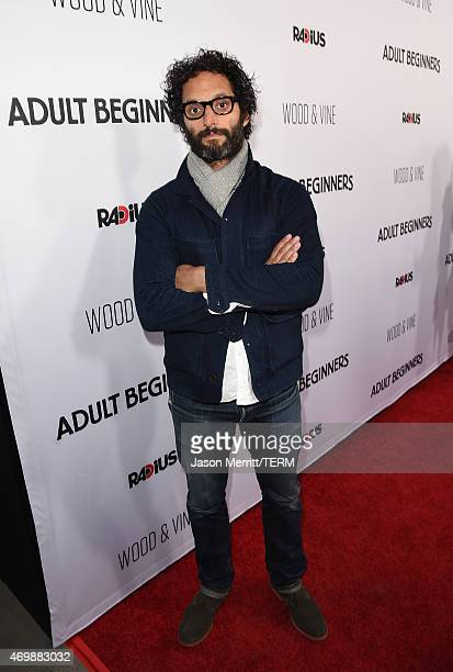 Actor Jason Mantzoukas attends the premiere of Adult Beginners at ArcLight Hollywood on April 15 2015 in Hollywood California
