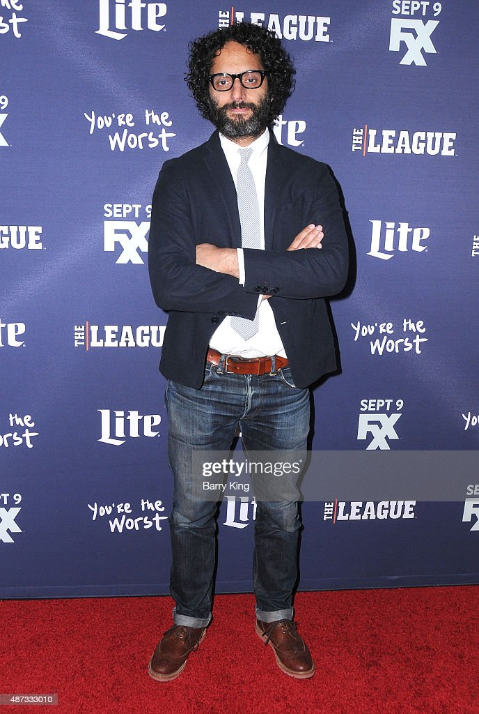 Actor Jason Mantzoukas attends the premiere of FXX's 'The League' final season and 'You're The Worst' 2nd season at the Regency Bruin Theater on September 8, 2015 in Westwood, California.