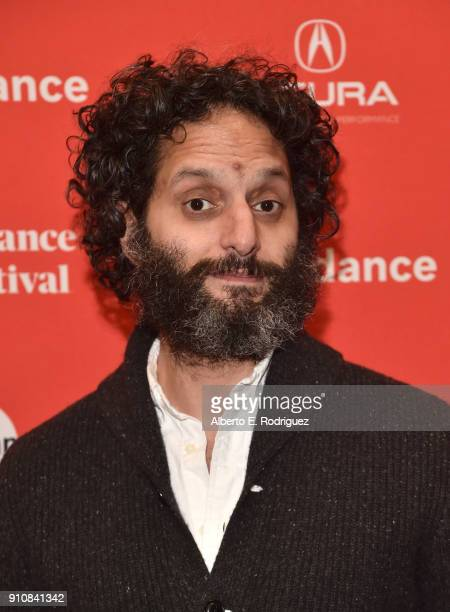 Actor Jason Mantzoukas attends the premiere of 'The Long Dumb Road' during the Sundance Film Festival at The Eccles Center Theatre on January 26 2018...