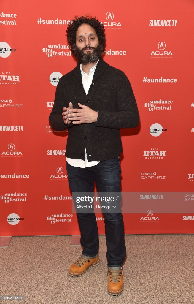 Actor Jason Mantzoukas attends the premiere of 'The Long Dumb Road' during the Sundance Film Festival at The Eccles Center Theatre on January 26, 2018 in Park City, Utah.